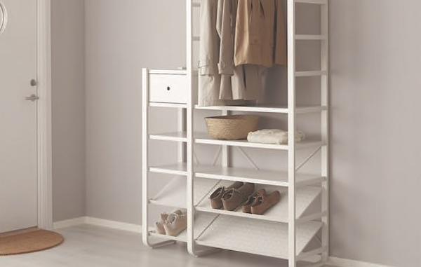 Armadio componibile a giorno ELVARLI - Design e foto by Ikea
