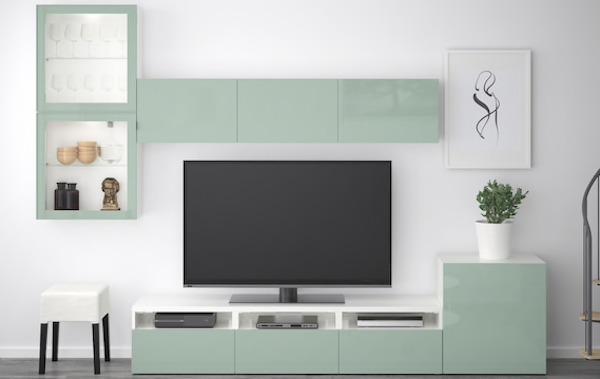 Mobile tv componibile BESTÅ - Design e foto by Ikea