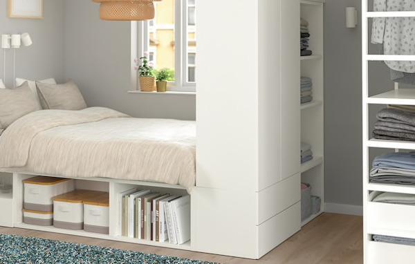 Struttura letto PLATSA - Design e foto by Ikea