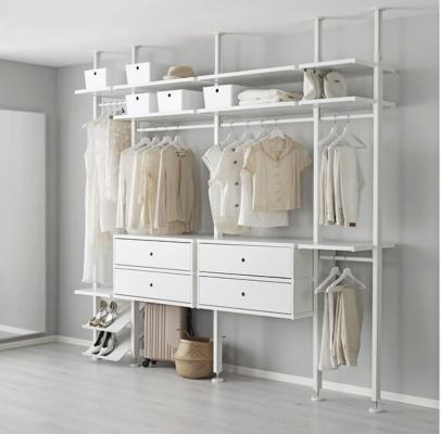 Soluzione componibile a giorno ELVARLI - Design e foto by Ikea