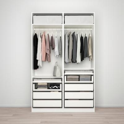 Armadio componibile PAX, soluzione doppia - Design e foto by Ikea