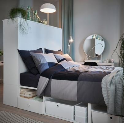 Cassettoni della struttura letto componibile PLATSA - Design e foto by Ikea