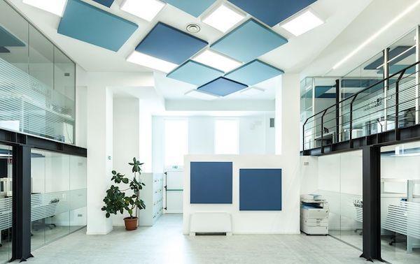 Pannelli fonoassorbenti Velvet - Foto e Design by Acustico®