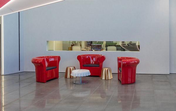 Poltrona KALLA - Design Gianni Arnaudo, foto by Slide