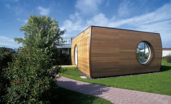 Esterni Rotor House, design by Luigi Colani