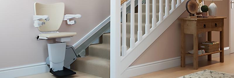 Abbattimento barriere architettoniche straight stairlift Handicare