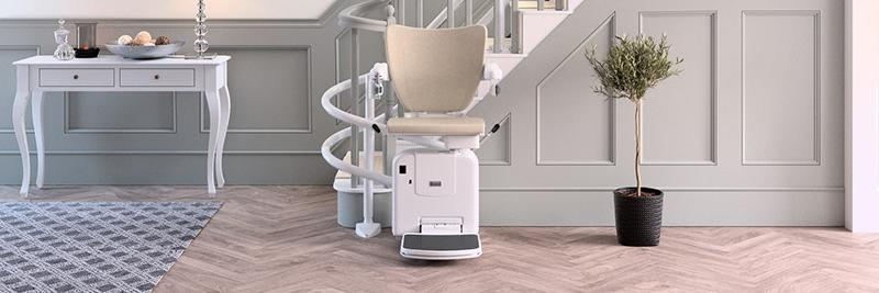 Montascale curved stairlift 2000 handicare