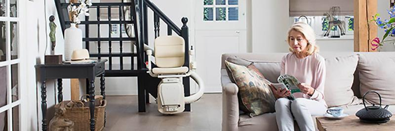 Montascale curved stairlifts handicare
