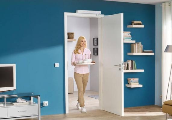 Avere una porta interna automatizzata facilita la vita