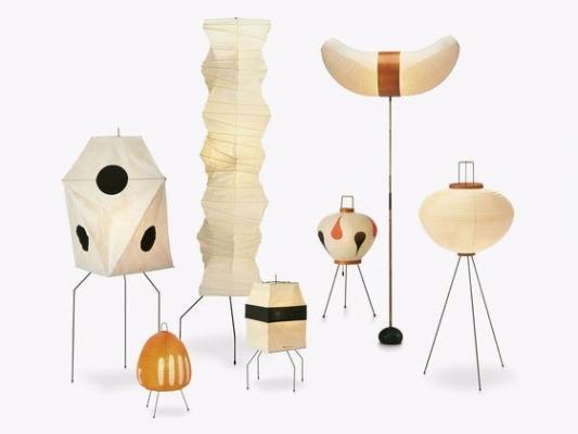 Le lampade in stile giapponese di Vitra