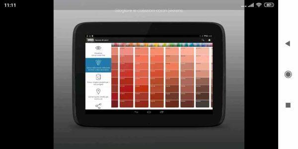 La App di Sikkens per simulare tinte su pareti