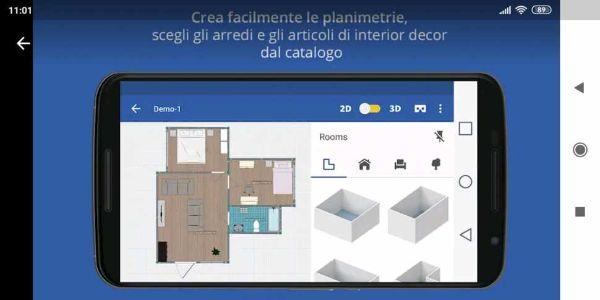 Home Design 3d svedese per progettare la propria casa