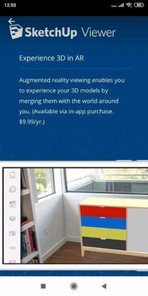 Sketchup viewer per portare i modelli 3d sempre con noi