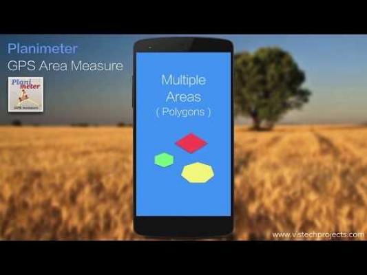 Alcune App ci permettono di rilevare anche interi terreni