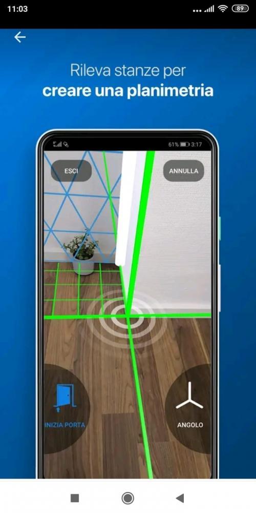 App per rilievi planimetrici Magicplan