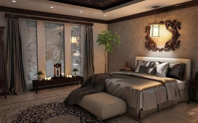 L'illuminazione della camera da letto deve essere tenue e calda