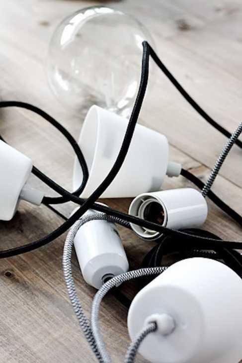Arredare casa con i rami secchi: lampadario, parte 1, da www.decor8blog.com