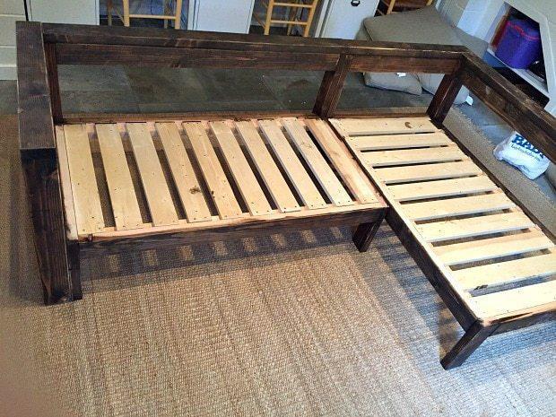 Riciclo creativo reti e materassi: divano, parte 1, da jaimecostiglio.com