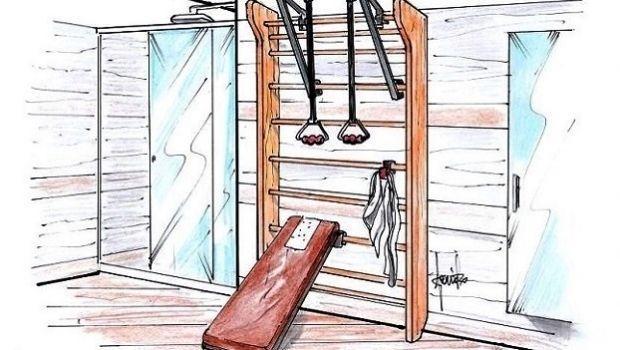Palestra in bagno: soluzioni su misura per il fitness in casa