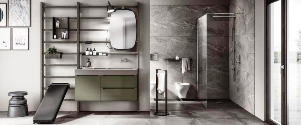 Fitness in bagno Gym Space Scavolini