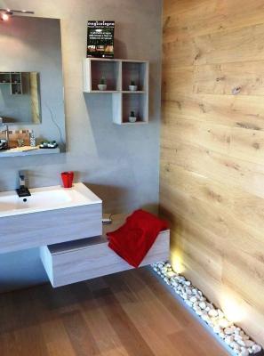 Divisorio legno per bagno - Magicolegno