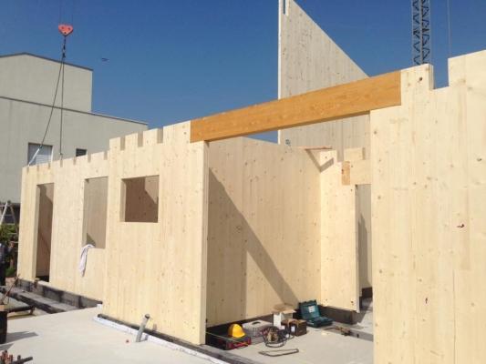 Pareti divisorie in legno - Wood Lab