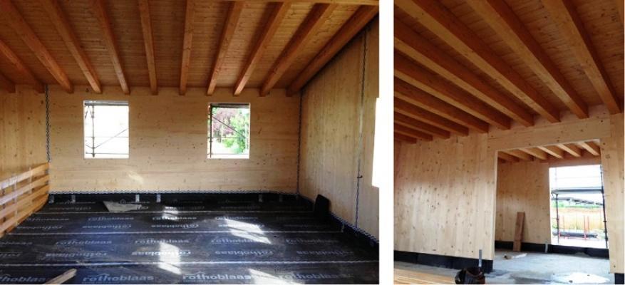 Pareti interne in legno - Wood Lab