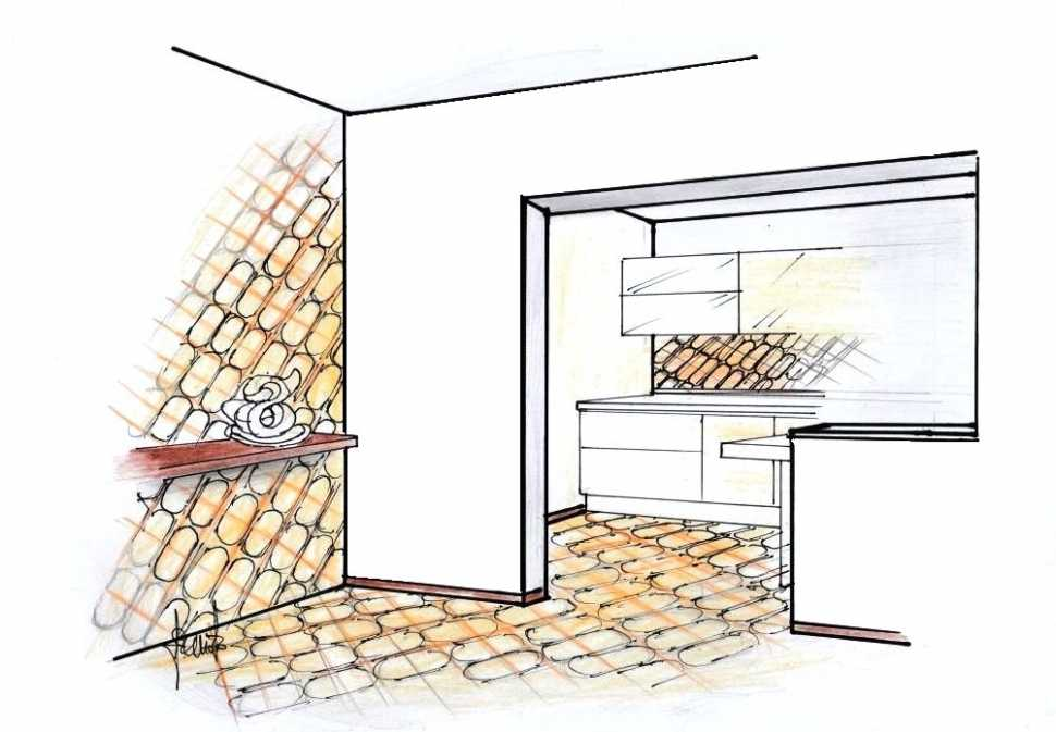 Ristrutturazione casa 45 mq: comunicazione cucina e living