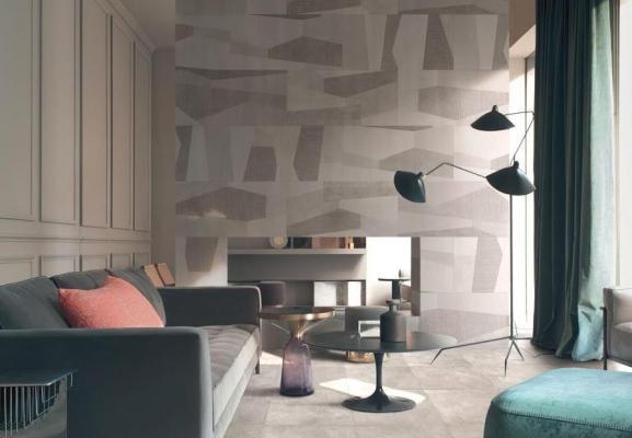 Ristrutturazione con parete e pavimento Palladiana Ceramica Bardelli