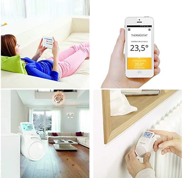 Honeywell valvole termostatiche da impostare con App