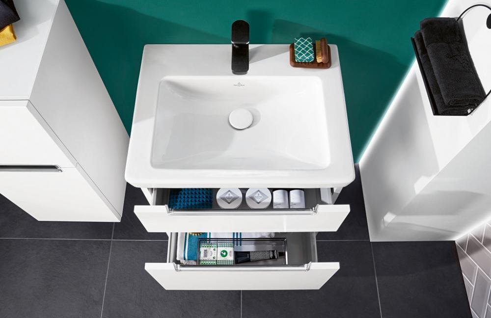 Lavabo bagno con mobile a cassetti - Villeroy&Boch trend 2020