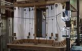Test antisismico su tavola vibrante di una casa in legno e paglia di Archetica