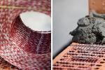 Applicazione delle fibre di rinforzo per muratura armata Murfor® Compact di Bekaert
