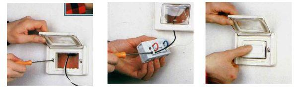 Come montare il pulsante del campanello