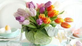 Centrotavola con fiori fai da te: idee creative da copiare