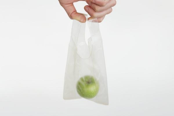 Bioplastica: sacchetto biodegradabile, da Marinatex