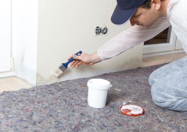 Affitto e tinteggiatura pareti