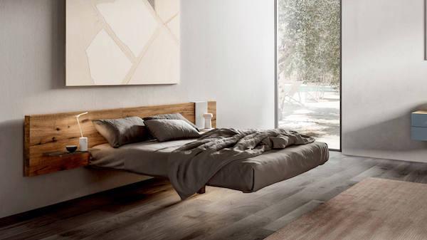 Letto sospeso Fluttua - Design e foto by Lago