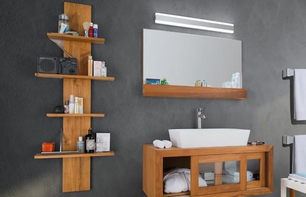 Sistema sospeso bagno Puro - Design e foto by Cipì Italy srl
