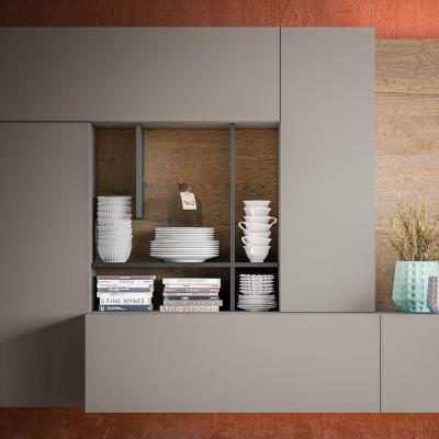 Parete attrezzata sospesa Plan 06 - Design e foto by Diotti