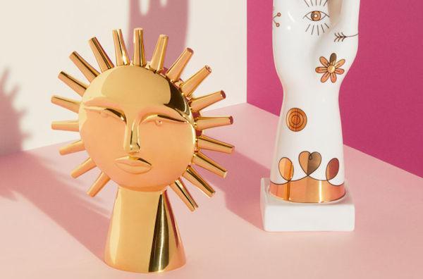 Scultra a forma di sole - foto H&M, design, Jonathan Adler
