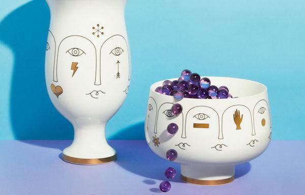 Vasi decorati in porcellana - H&M Home collection