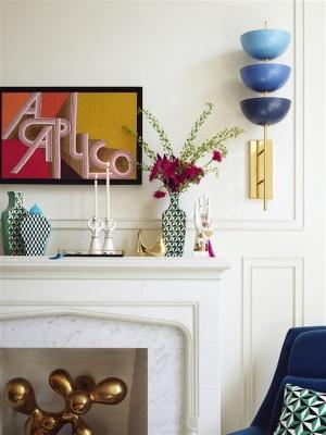 Ornamenti H&M Home collection, design by Jonathan Adler