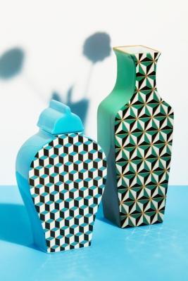 Vasi con decorazioni 3d - H&M Home collection