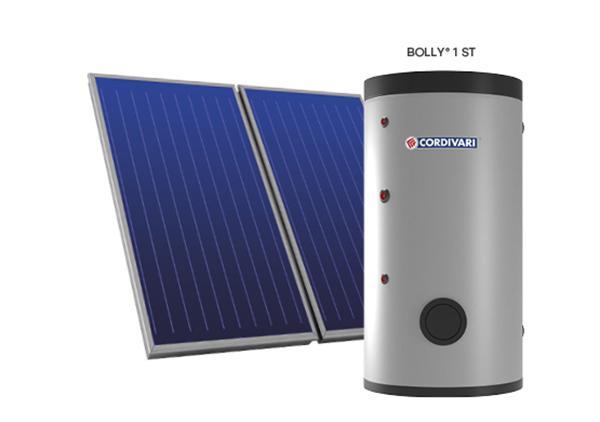 Sistema solare termico a circolazione forzata B1 - Cordivari