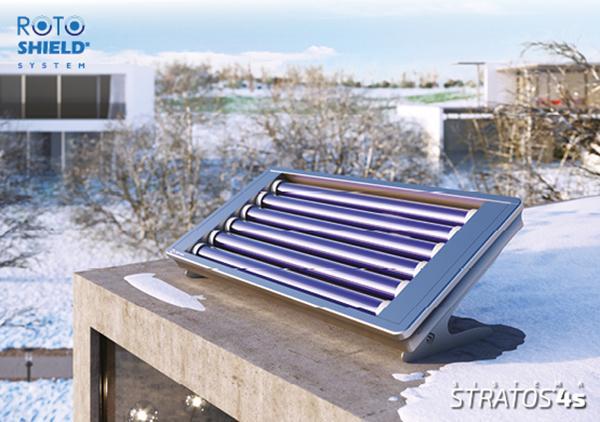 Collettore solare termico compatto STRATOS 4S HC - Cordivari