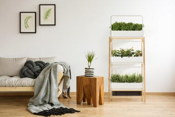Serra mini The Smart Garden 27 - Design e foto by Click&Grow