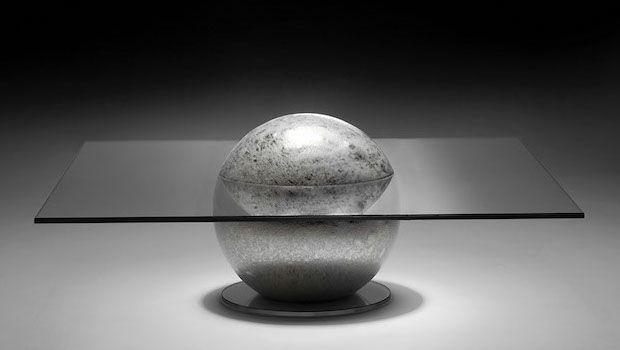 Design spaziale: complementi arredo ispirati alla luna
