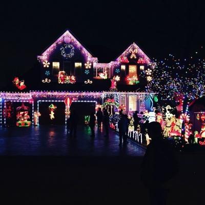 Luci di Natale fai da te