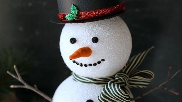 Decorazioni Natalizie Con Il Polistirolo.Decorazioni Per Natale Con Palline Di Polistirolo